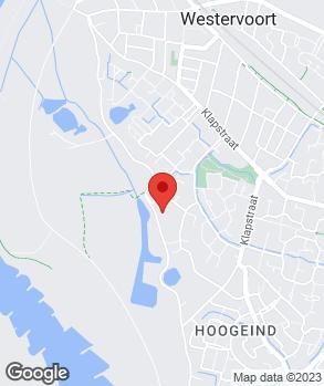 Locatie Autocentre Westervoort op kaart