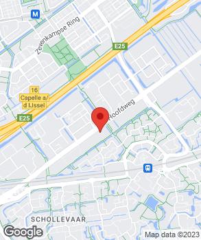Locatie Autobedrijf Verhoeve B.V. op kaart