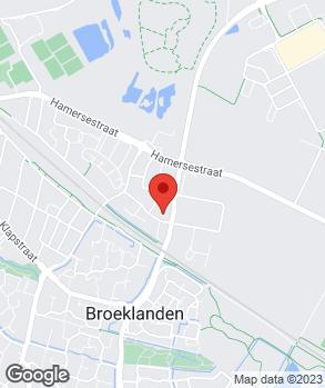 Locatie Autoservice Het Ambacht B.V. op kaart