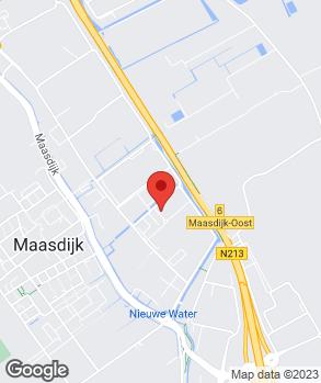 Locatie Garagebedrijf Gieroo op kaart