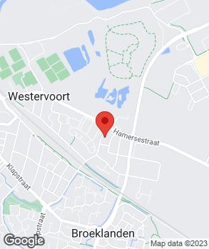 Locatie Tvsautos.nl Westervoort op kaart