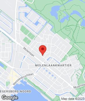 Locatie S. Bakker's Automobielbedrijf op kaart