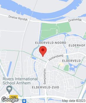 Locatie Meo Autohandel Arnhem op kaart