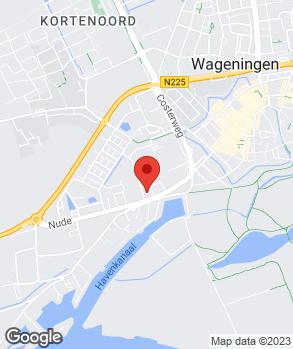 Locatie Broekhuis Wageningen B.V. op kaart