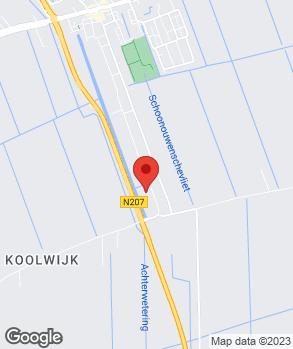 Locatie ABA Banden Service Stolwijk B.V. op kaart