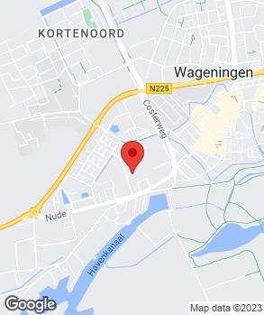 Locatie Multicampers Wageningen B.V. op kaart
