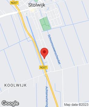 Locatie Vakgarage Stolwijk op kaart