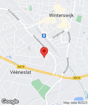 Locatie Autohandel Moester Winterswijk op kaart