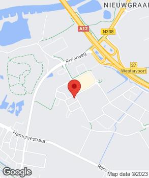 Locatie Garage Duiven op kaart