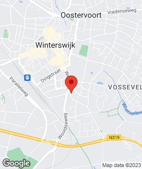 Locatie Autoservice Oonk-te Winkel V.O.F. op kaart