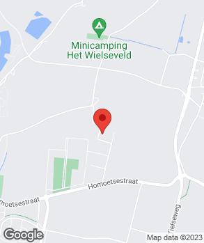Locatie J.P. Belgers op kaart