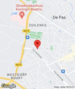 Locatie Profile Car & Tyreservice Vermeulen op kaart