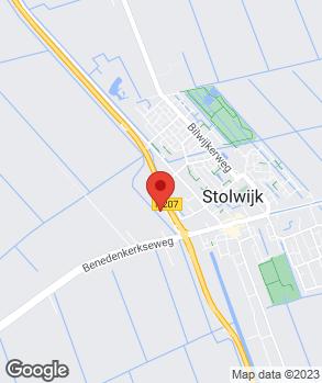 Locatie Vaartland.nl Stolwijk op kaart