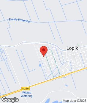 Locatie Gerrit Smink Auto-Occassions op kaart
