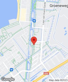 Locatie Euro Auto's Rotterdam Service op kaart
