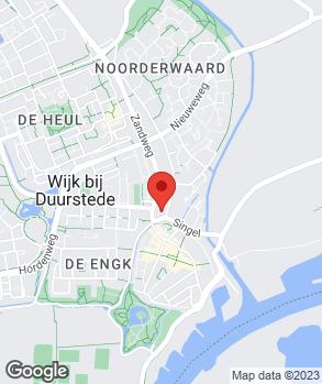 Locatie Denning Service op kaart