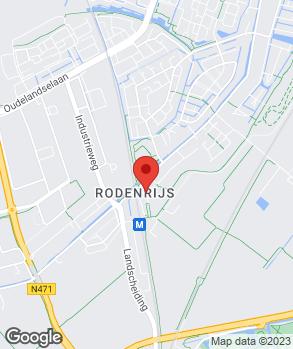 Locatie Automobielbedrijf Peet de Bruijn op kaart