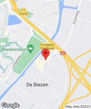 Locatie Autobedrijf Occasionhal Vianen op kaart
