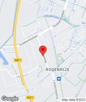 Locatie Autoschadebedrijf Visser en Zonen B.V. op kaart