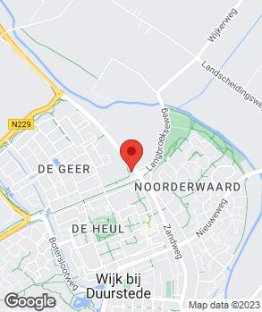 Locatie Wijkse Autoboulevard Garage Beijer op kaart