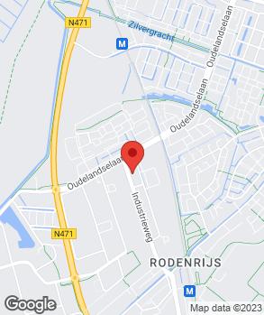 Locatie Auto Select op kaart