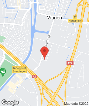 Locatie Autoservice Wegman B.V. | Vakgarage Wegman | Glasgarage Vianen  op kaart