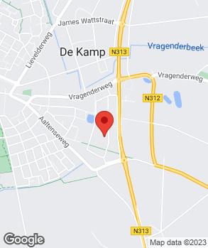 Locatie ASG Autoschade Gelderland Lichtenvoorde B.V. op kaart