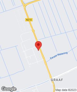 Locatie DTS Lopik op kaart