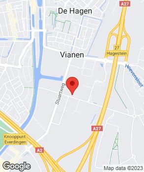 Locatie Profile Tyrecenter Vianen op kaart