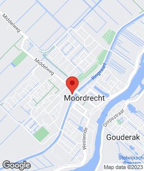 Locatie Automobielbedrijf 't Centrum Moordrecht B.V. | Vakgarage 't Centrum op kaart