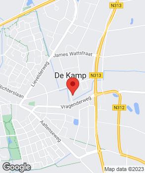 Locatie Garagebedrijf Engelbarts B.V. op kaart