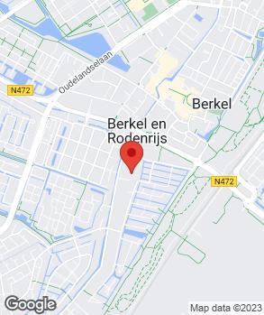 Locatie Autobedrijf Treurniet op kaart