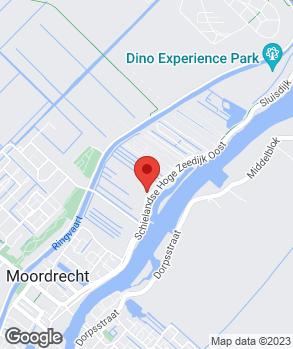 Locatie Garagebedrijf Kees Oosterwijk op kaart