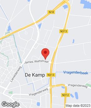 Locatie Auto Klein Gunnewiek op kaart