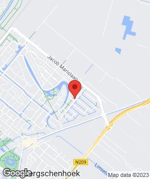 Locatie Ribe Auto's op kaart