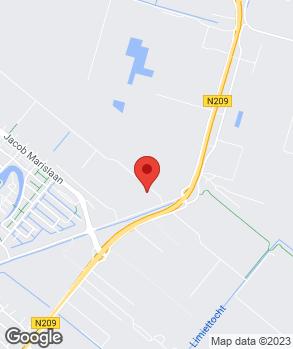 Locatie Keverland op kaart