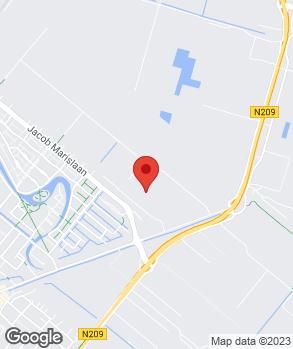 Locatie Gebr. De Jong Spuittechniek V.O.F. op kaart