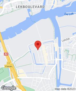Locatie Autobedrijf Gebr. van Hemert Vianen B.V. op kaart