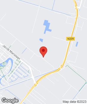 Locatie M. de Rooij Auto's B.V. op kaart