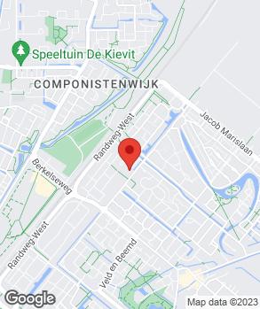 Locatie J.G.J. van der Meer op kaart