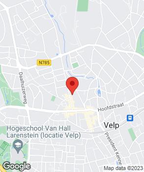 Locatie J.P. Wijlhuizen op kaart