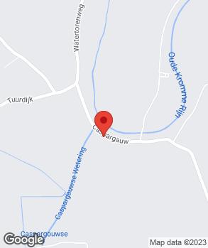 Locatie E.J. Lagerweij Cothen op kaart