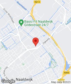 Locatie Autoschade C.A. van den Bos op kaart