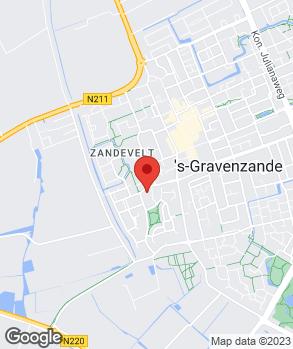 Locatie Autobedrijf Van Dam op kaart