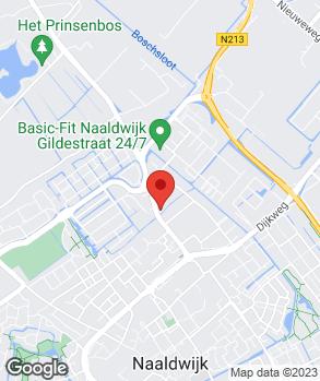 Locatie Eigenraam Naaldwijk B.V. op kaart