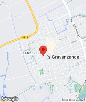 Locatie Autobedrijf Dick van der Kaaij op kaart