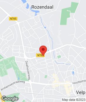 Locatie V.O.F. E. Van Setten op kaart