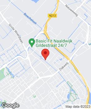Locatie Autoperformance op kaart