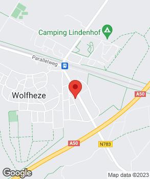 Locatie V.O.F. Autobedrijf J. van Capelleveen op kaart