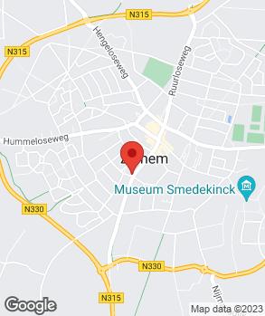 Locatie Autobedrijf Zelhem op kaart